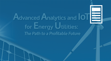 Advanced Analytics and IoT for Energy Utilities