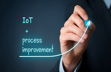 Iot and Process improvement aids business process