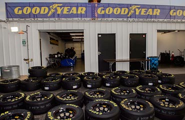 Goodyear location with Tires