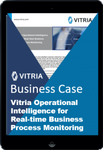 Vitria OI for real-time business process managment - business case