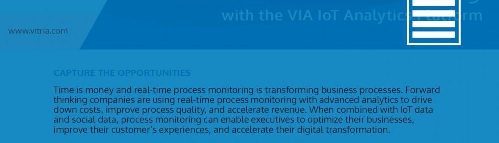 Real-Time Process Monitoring
