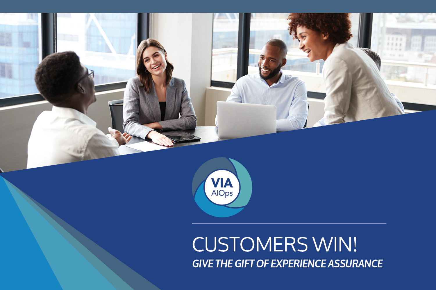 Download the Ebook: Customers Win! Service Oriented AIOps