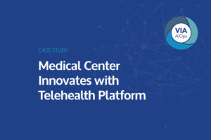 Download The Case Study: Medical Center Innovates with Telehealth Platform